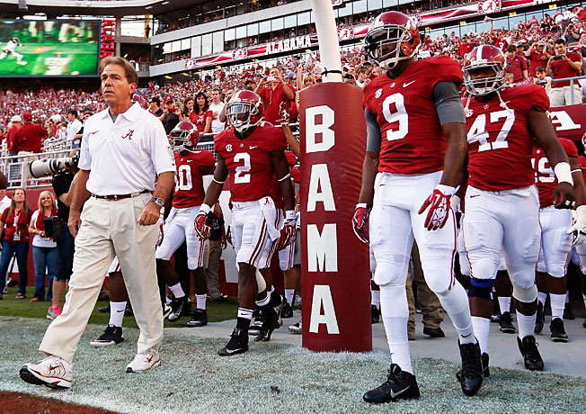 The Tide will come with a lot of force this year. I don't think the players nor Saban liked the way last season ended with 2 straight losses. (AP Photo)