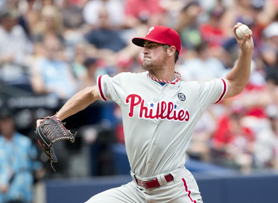 Cole Hamels pitched an immaculate inning earlier this season and was the starter for the Phillies combined no-hitter. (AP Photo)