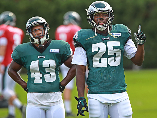 Darren Sproles (43) and Lesean McCoy (25) played at two different colleges but combined they accumulated 10,177 yards and 84 touchdowns.(Michael Bryant/Staff/ Philly.com)