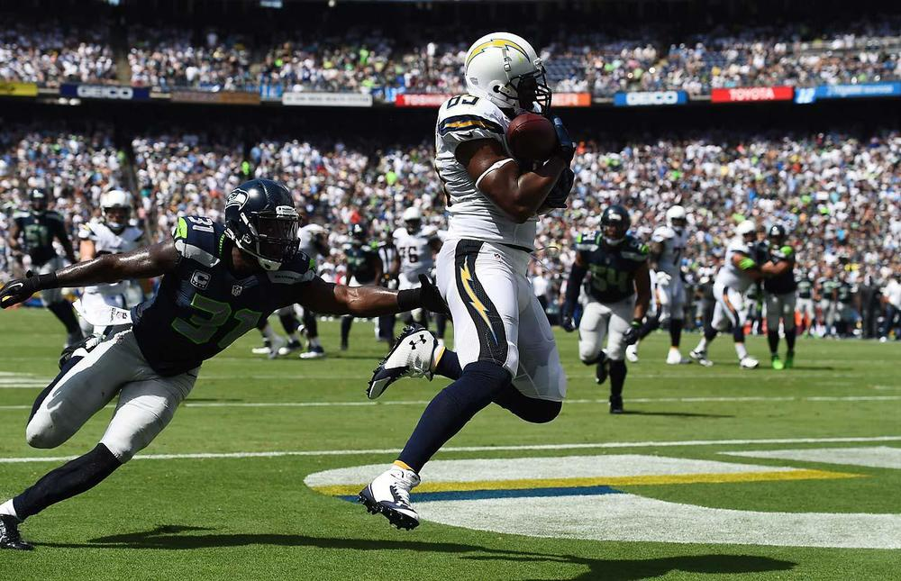 Antonio Gates caught 3 touchdowns against what some say is the best secondary in football. (John W. McDonough/SI)