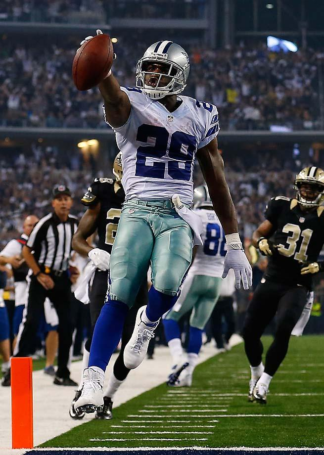 DeMarco Murray lead the league in rushing with 534 yards, hopefully he can stay healthy.