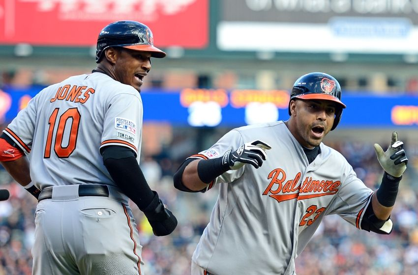 Nelson Cruz in his career has 16 postseason home runs, 9th all time, with 8 of them coming against the Tigers. Slowly but surely he is becoming Mr. October. (AP Photo)