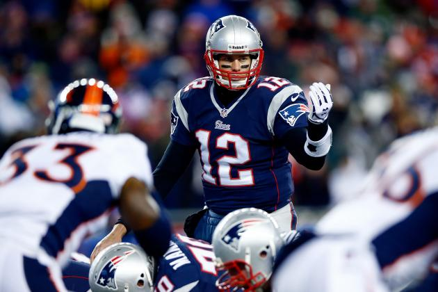 Brady reminded everyone who is the ruler of the Manning-Brady Bowl once again, notching his 11th win against Peyton Manning. (AP Photo)
