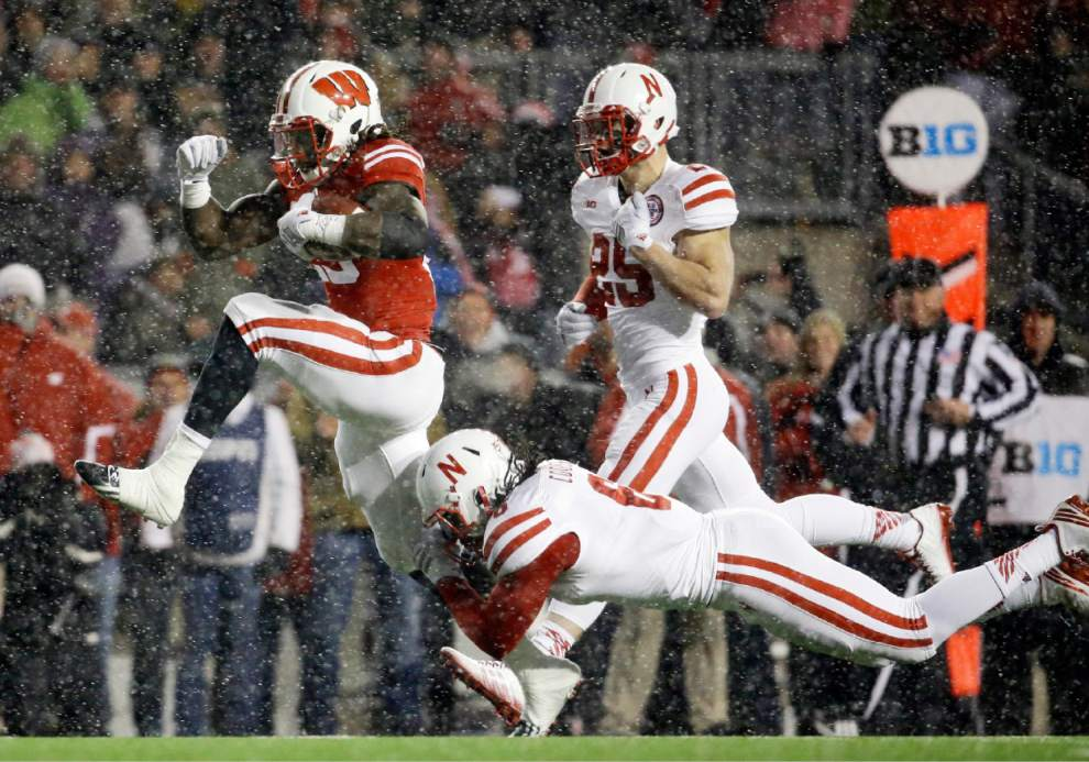 I don't think there was any question on who would be this week's top Baller after Melvin Gordon had the game he had. His record breaking day against the Cornhuskers put him in the front of the Heisman race, which has been slow this year with no true standouts. Gordon may have won it with this performance. (MORRY GASH/AP)
