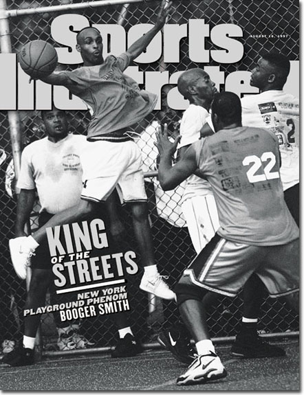 "Ed ""Booger"" Smith 1997 Sports Illustrated cover"