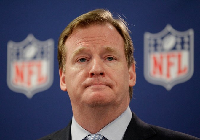 Since being named commissioner in 2006, Goodell and the NFL has fined players over $79 million. What part of the game is that game? (AP Photo)