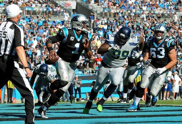 Cam Newton is a very talented players. He has the size and abilities to be a HOF QB. For some reason though it hasn't resulted to many wins on the field. A Superman like performance will be needed from Cam in order for the Panthers to win in Seattle.