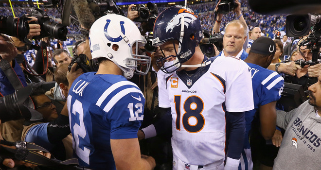 Luck vs. Manning, enough said.