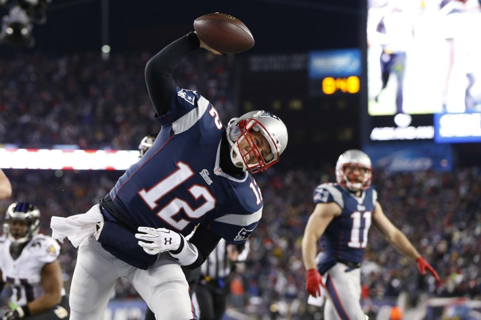 Tom Brady will play in his 8th AFC Conference championship, hoping to reach his 6th Super Bowl. (Greg M. Cooper/USA Today Sports)