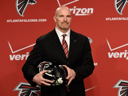 Former Seattle Seahawks defensive coordinator, now Falcons Head Coach, will try to revamp a defensethat was ranked last in passing defense,21st in rush defense, and allowed 26 points a game. Good luck with that bruh. (AP Photo)