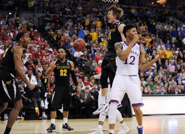 The Battle of Kansas was won by the Shockers. not only is this a big win for the program but a big win for recruiting. (AP Photo)