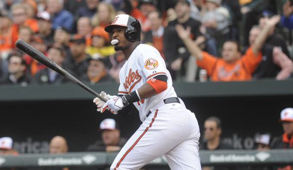 Adam Jones opened his season with a Home Run and I think that is the signal of another MVP caliber season. The center field position is loaded but it's no reason why the 10-year vet can't be considered the best in the league. (AP Photo)