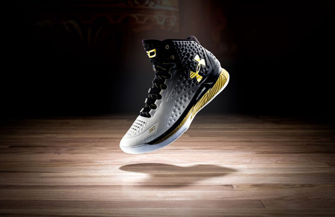 "Curry 1 ""MVP"" edition currently SOLD OUT. (SoleLinks)"