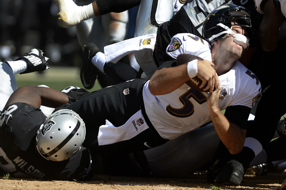 Flacco led the Ravens offense to franchise record breaking season but inconsistency has always followed. (AP Photo)