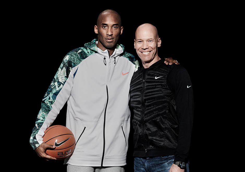 Eric Ayar (left) is the Tinker Hatfield of the Kobe line. He is the innovator of the flywire technology that was bought to fame in Kobe's line. Ayar took Kobe's love for soccer and turned it into a quality low top basketball shoe. Simplicity is key to  him.