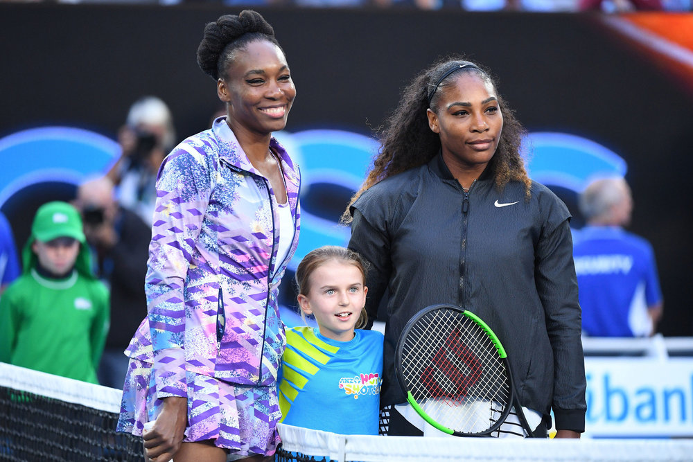 Venus and Serena battled each other for the ninth time in the Australian Open Finals but many overlook their career as doubles partners. Together the two sisters have won four Australain Open Doubles titles, Two French Open Double titles, six Wimbeldon Doubles Championships, two U.S. Open Doubles titles, and Three Gold Medals. (Quinn Rooney/Getty Images)
