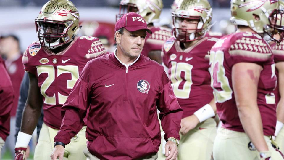 Jimbo Fisher put together one of the toughest schedule in college football but this is nothing new for the Noles. (Getty Images)