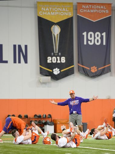 Clemson will have to rely on their new quarterback if they want to repeat but Swinney and the bunch are ready to defend their title. (Greenville Online)