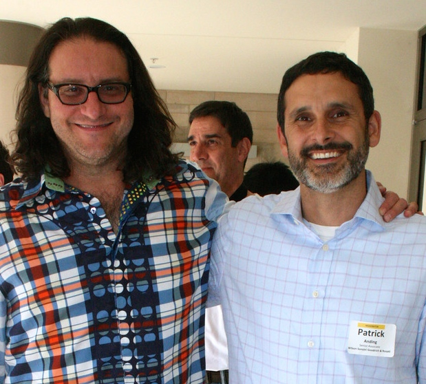 Brad Feld (with moderator Patrick Anding of WSGR)