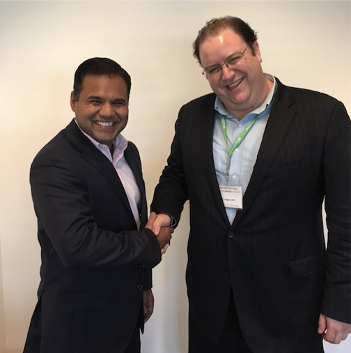 Consulting - TechFire is trusted by governments and leading companies to develop and implement tech economic development strategies, and to organize events with titans of tech. Pictured: London Deputy Mayor for Business Rajesh Agarwal (left) with TechFire CEO David Murphy (right).Clients include the City of Burbank, Fairfax County Economic Development Authority, and more.Learn more ➝