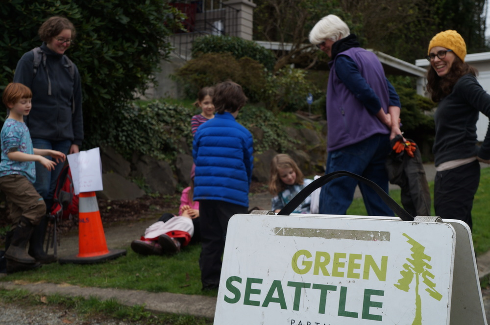 The  Green Seattle Partnership  is a supporter of the Cheasty Greenspace.