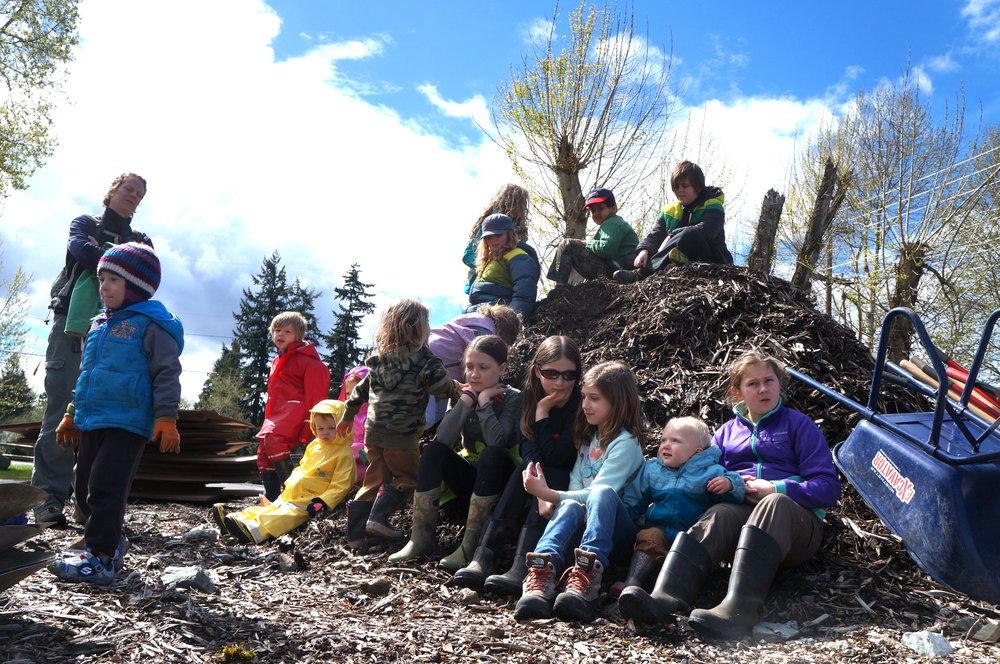 homeschool stewardship squad Duwamish Hill
