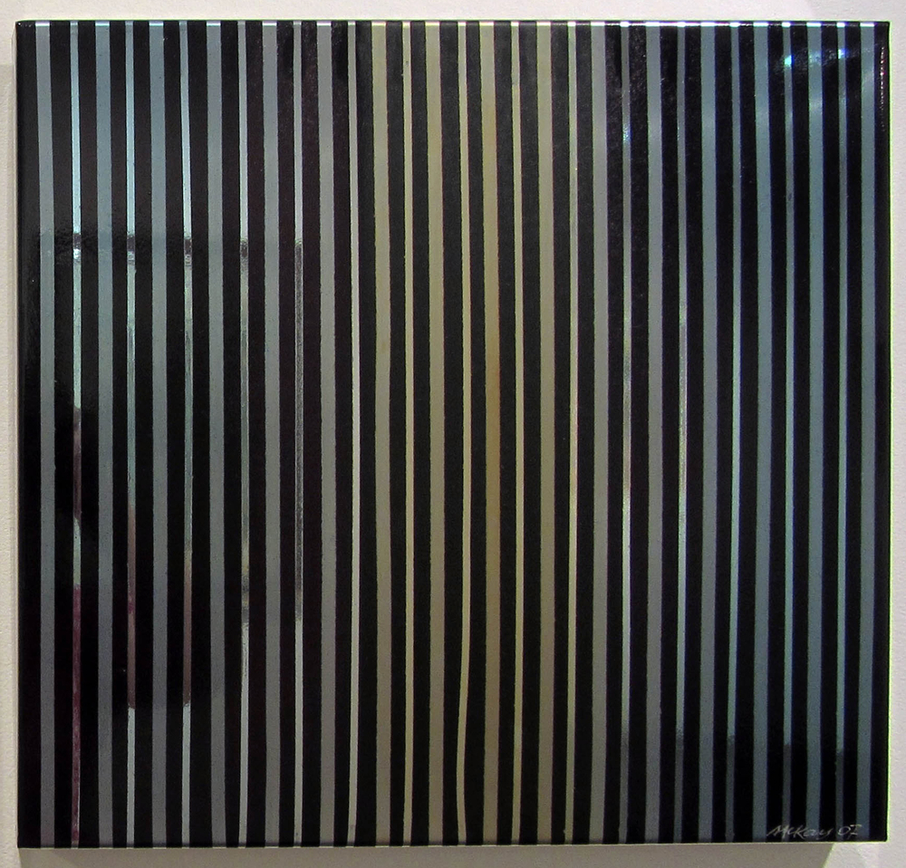 Image:  Brian McKay,  Quicksilver  (2007), auto enamel on etched and sealed stainless steel