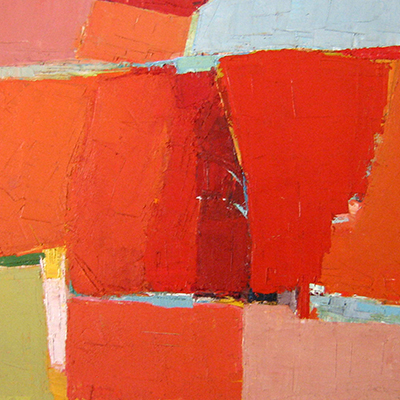 Image: Guy Grey Smith,  Ant Hills  (detail) 1963, oil and beeswax emulsion, private collection.