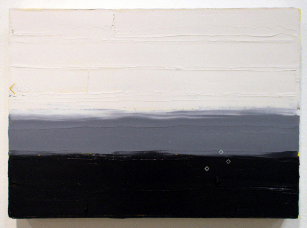 20. Ian Williams,  Small Study #3 , Oil and acrylic on canvas, $265