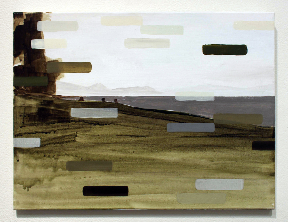 22. Ian Williams,  Kill Process , Oil and acrylic on canvas, $255