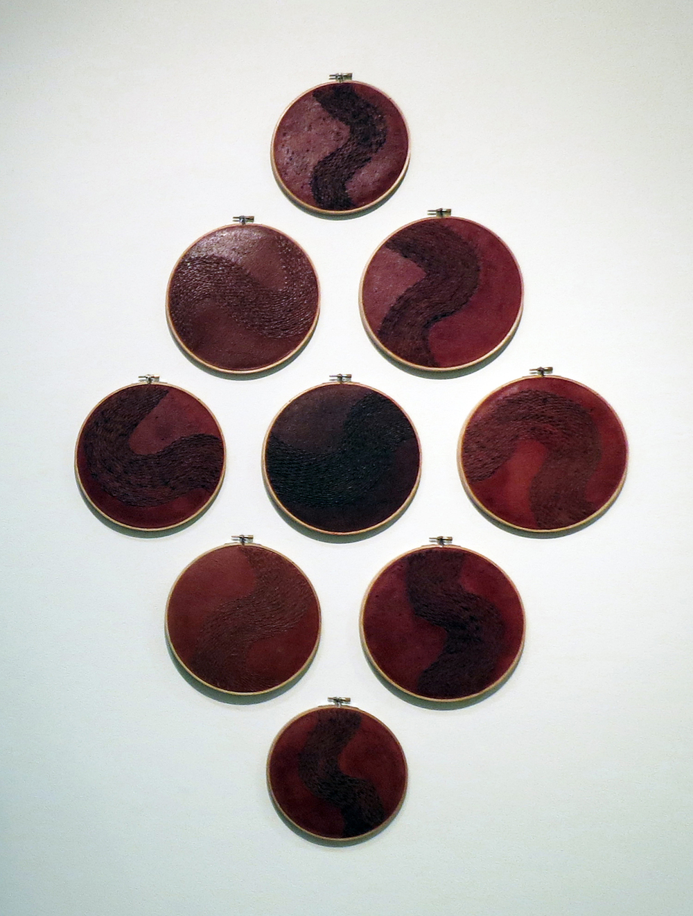 3 Holly Story,  Red Rain  2014 (Installation Detail), $3,385