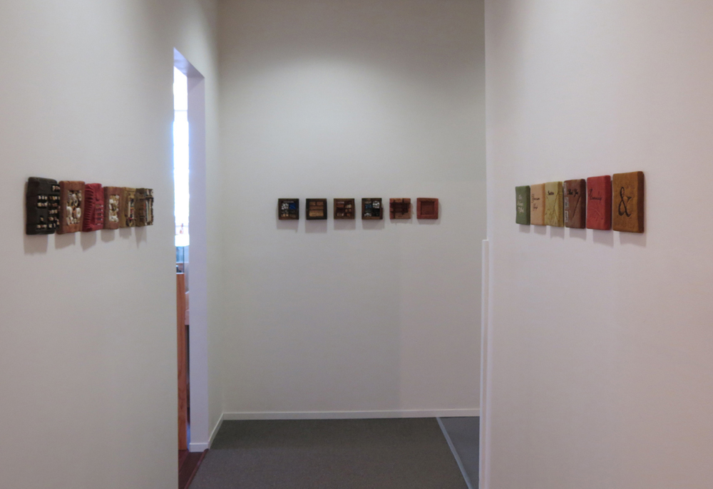 13, 14, 15. Diane Savona,  This Too Shall Pass , mixed media installation