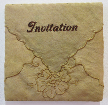 15. Diane Savona,  This Too Shall Pass - Penmanship 3 , $230