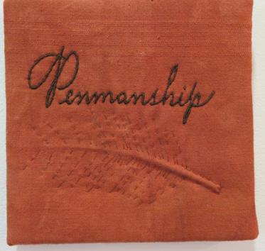 15. Diane Savona,  This Too Shall Pass - Penmanship 5 , $230
