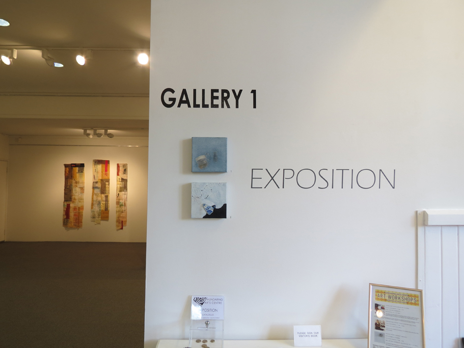 Exposition-entry, Elizabeth Lada Gray and Cas Holmes