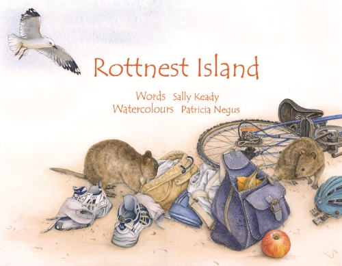 "From ""Rottnest Island"", illustrated by Patricia Negus and written by Sally Keady."