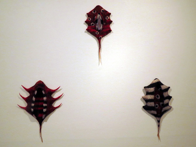 19, 20, 21. Katrina Virgona,  Sidetracks i-ii i, $345 each