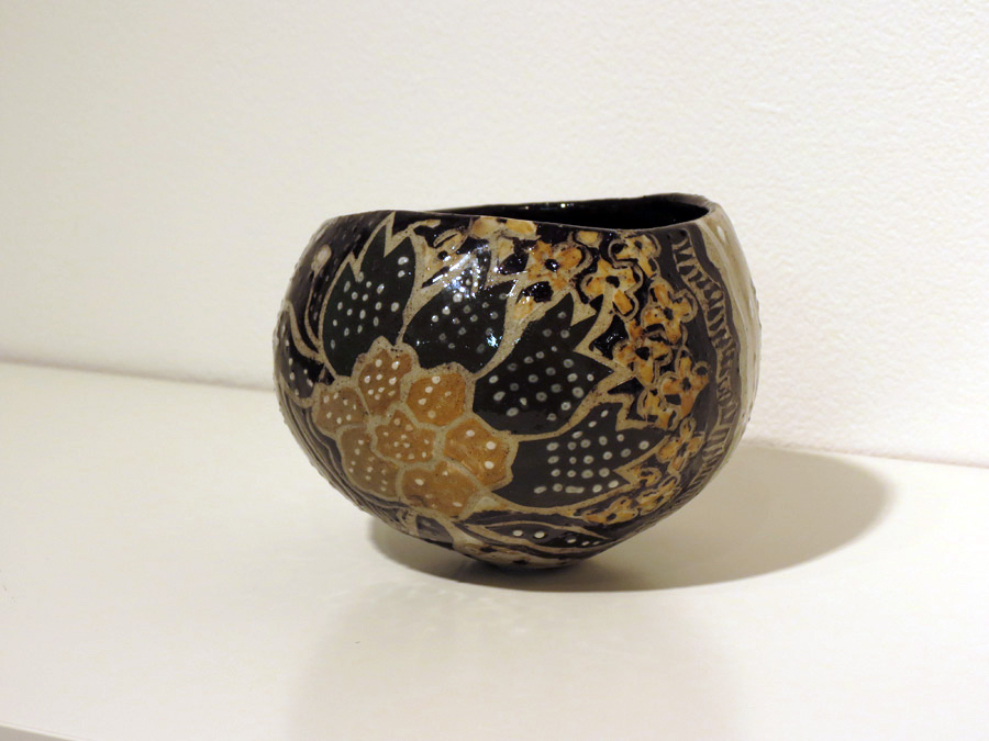 24. Bernard Kerr,  Beloved Bowl, Lereng Pileanthus,  $75