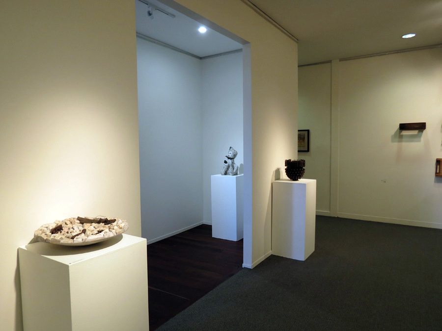 In-Material Exhibition Install