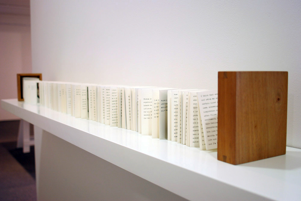 7. Jane Hamilton,  Sage , Magnani Velata Avorio 100gsm paper, handmade Mahogany box, digital prints, look book, 14.5 x 13 x 8.5cm, $1200