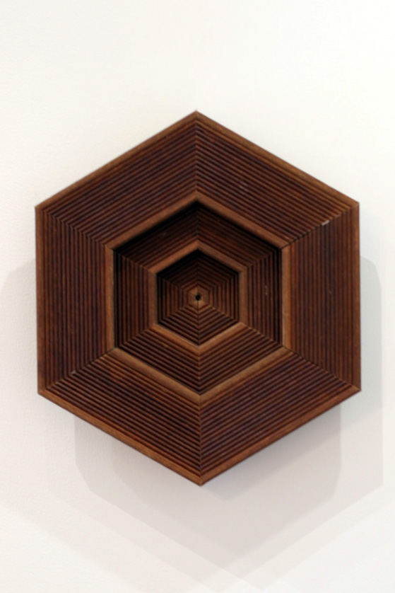 2. Jonathan Holding,  Reclaimed , Found wood, 41 x 35 x 55cm, $130