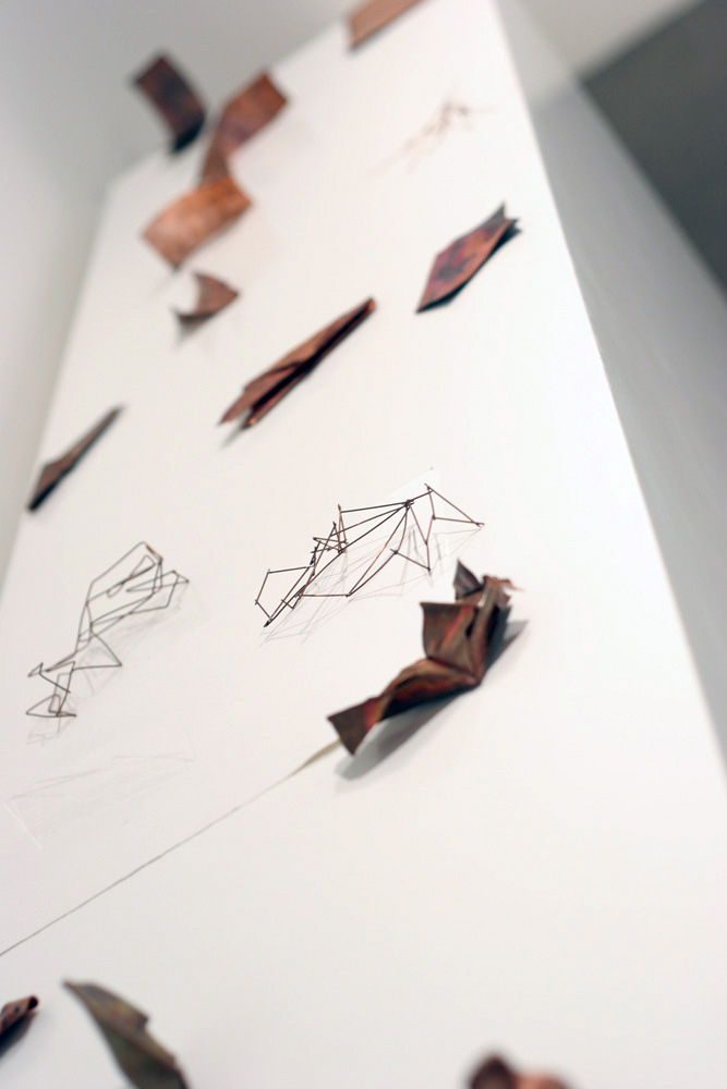 13. Tessa Beale,  Material Studies , Copper, variable dimensions, $50 - $80 each
