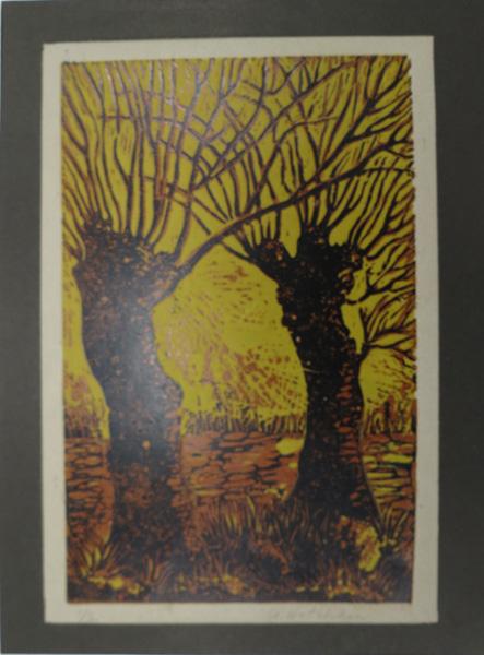 A14. Alma Hotchkin,  Winter 1-2,  c1970, $80