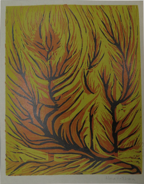 A32. Alma Hotchkin,  Journey of Flame II,  1973, $130