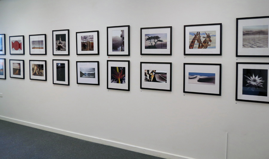 Mundaring Camera Club install south wall