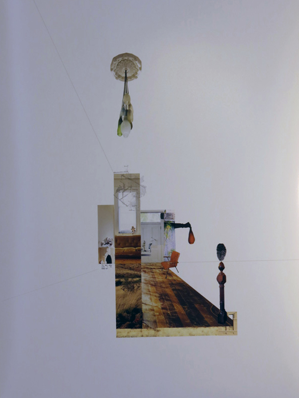 7.  Dalkeith House, Fremantle , Katherine Ashe, digital collage, POA