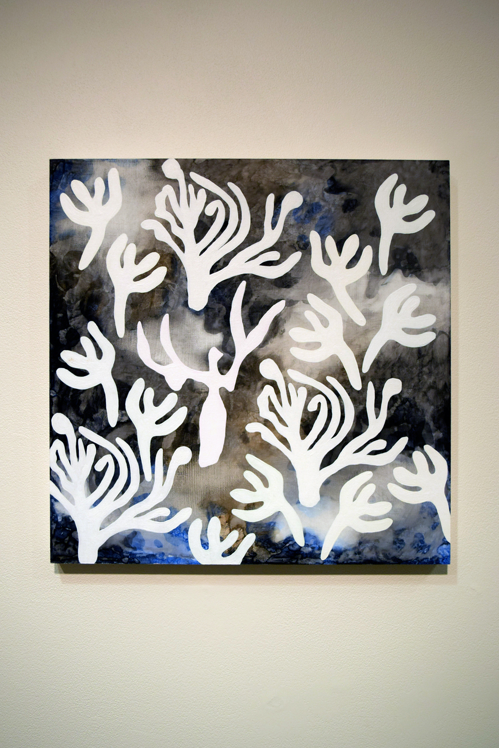 26.  In the Wilderness , Felicity Sivewright, acrylic on board, $900