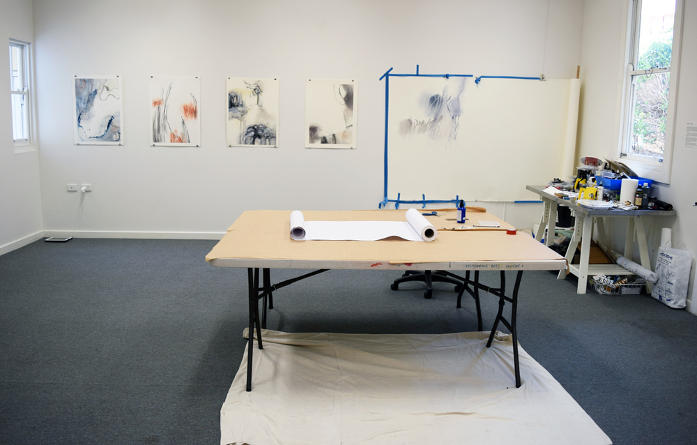 Gayle Mason, Artist in Residence, gallery view