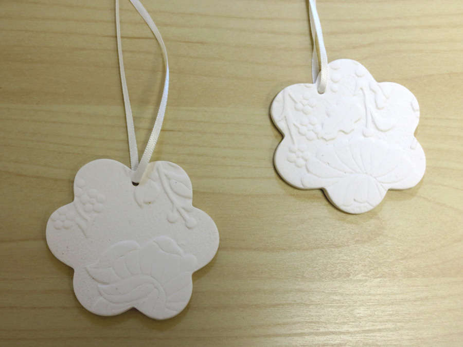 6. Louise Simonette,  Flower Christmas Decorations , $16 each