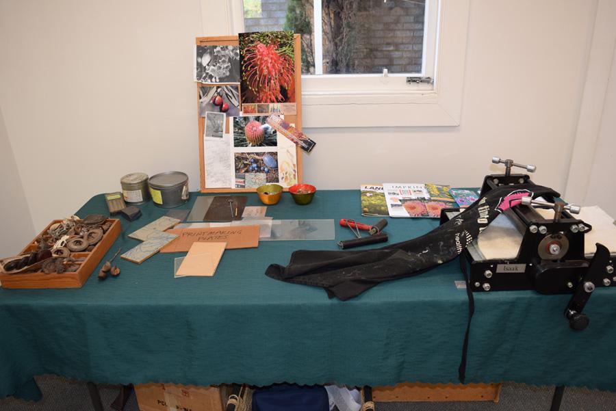Gifted - Helen Clarke,studio table